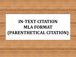 in-text citation mla format parenthetical citation