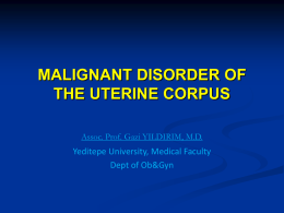 malignant disorder of the cervi̇x,the vulva, the vagina