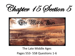 Chapter 15 Section 5