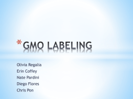 Big Business and GMO`s