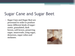 Sugar Cane and Sugar Beet pg33