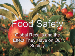 Food Safety - Texas A&M University