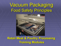 Vacuum Packaging Module