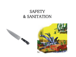 SAFETY AND SANITATION - Berkeley Heights Public Schools