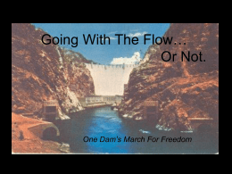 Going With The Flow… Or Not. - Geo