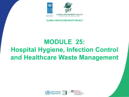 Module 2: The Healthcare Waste Management System