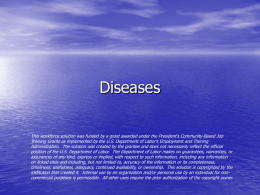 Common diseases in Ruminants