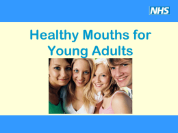 Healthy Mouths for Kids under 5