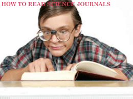How_to_read_a_science_paper