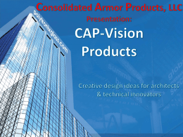 On CAP-Vision™ Switchable Privacy Glass