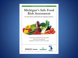 Safe Food Presentation
