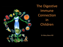 Digestive Role in Children