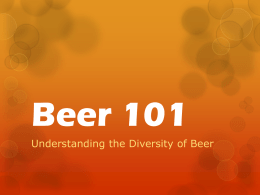 Beer 101 - Squarespace
