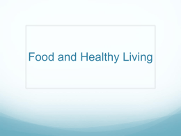 Food and Healthy Livingx