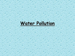 L15 Water pollution