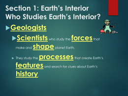 Section 5: What is the theory of plate tectonics?