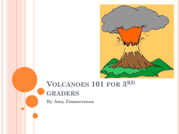 about volcanoes Power point
