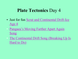 Plate Tectonics Day4 Transform