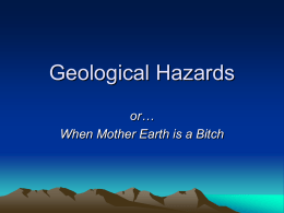Geologic Hazards - The Naked Science Society