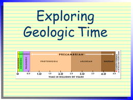 Exploring Geologic Time
