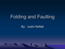 Folding and Faulting Powerpoint