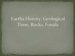 Earths History: Rocks, Fossils, and Ice Cores