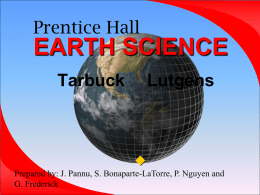 Plate Tectonics - Open Earth Systems