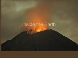 Inside the Earth