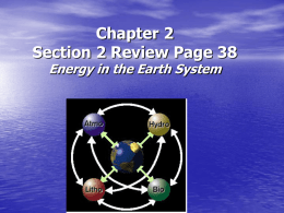 Chapter 2 Section 2 Review PAGE 38 Questions 1