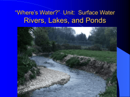 Surface Water ppt Parts 1 and 2