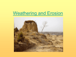 Weathering and Erosion PP