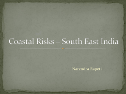 Coastal Risks – South East India