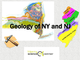 Geology of NY and NJ
