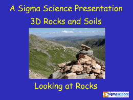 SGM3DP01 - Finding And Using Rocks