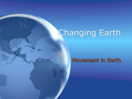 Movement in Earth Notes