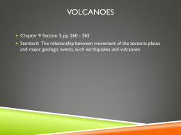 Volcano ppt notes