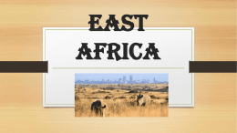 East Africa - Fort Bend ISD