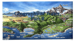 Geography of Water