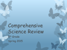 Comprehensive Science Review