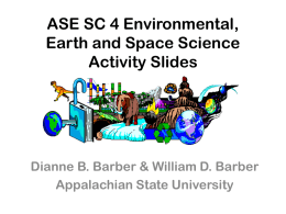 Environmental, Earth and Space Science