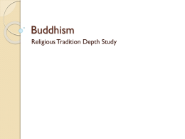 Buddhism REVISION