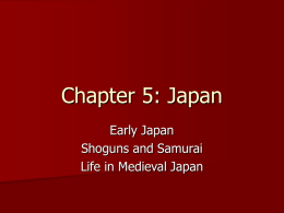 Chapter 5: Japan - Santee School District / Overview