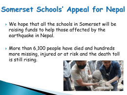 Appeal for Nepal Mufti Day