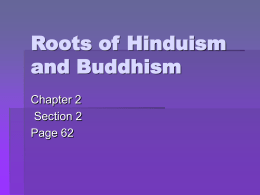 Roots of Hinduism and Buddhism
