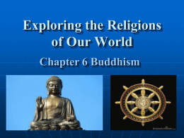 Chapter 6: Buddhism
