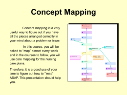 Concept Mapping - Tri-County Technical College