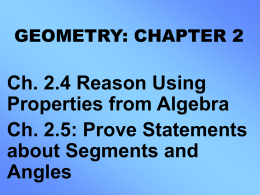 Geometry 2_4 and 2_5 Updated Version