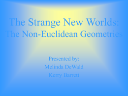 The Strange New Worlds: The Non