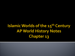 Chapter 18 Empires of Asia [1350