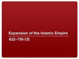 Expansion of the Islamic Empire_0